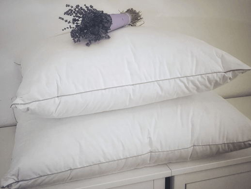 silver lining 100% down fill pillow