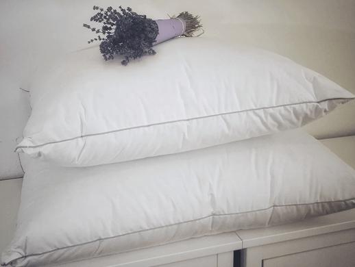 800 Fill Power Hungarian Goose Down Pillows